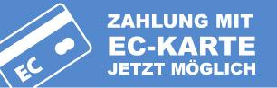 EC-Zahlung möglich