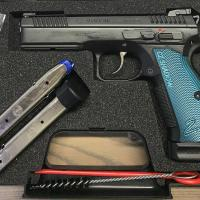Pistole CZ 75 SP01 Shadow 2, blau
